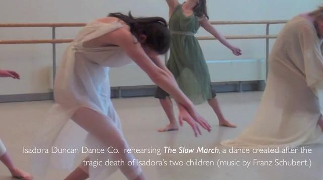"Lori Belilove Discusses Isadora Duncan's "" Slow March"" with Christine Jowers"