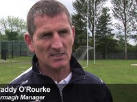 Armagh v Down - Paddy O'Rourke Interview
