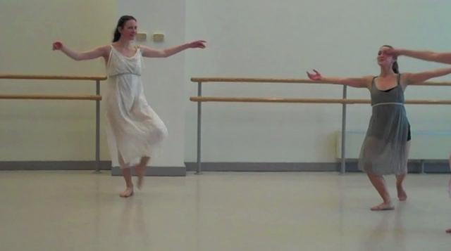 The Dance Enthusiast Spends A Day with Lori Belilove and The Isadora Duncan Dance Company