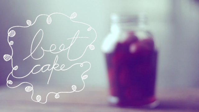 Thumbnail of video beet cake