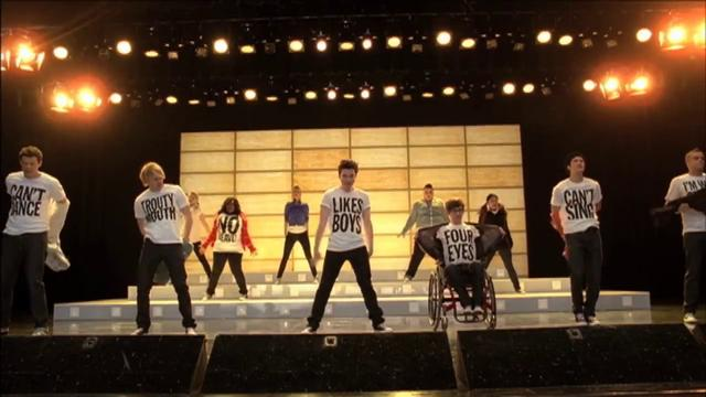 GLEE - Born This Way - Full Performance