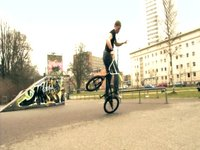 BMX Flatland - Rayk Hahne 1on1