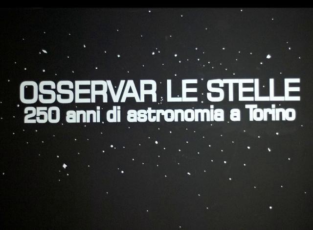Osservar le Stelle - 250 anni di Astronomia a Torino