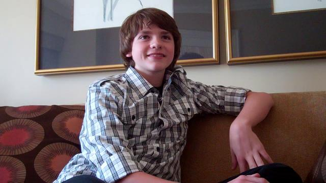 Joel Courtney Interview - J.J. Abrams' Super 8