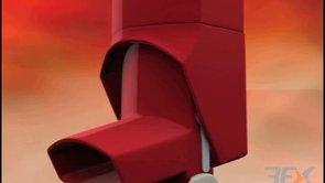 Product design inhaler asthma bronchodilator albuterol hfa  aerosol