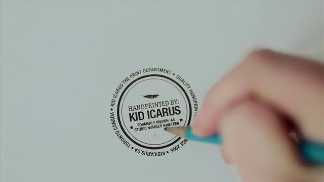 kid icarus // the screen printing duo