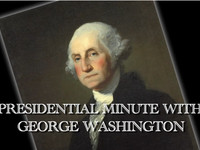 George Washington - Presidential Minute