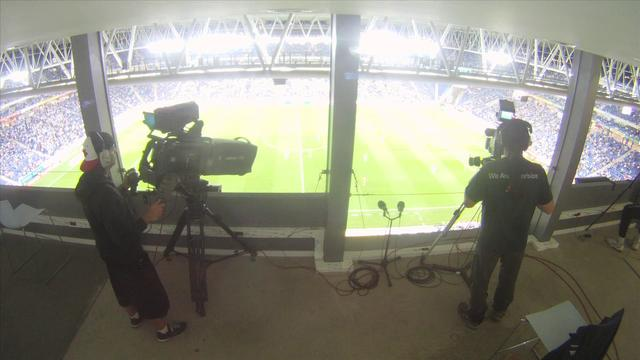 Inside Futbol TV Production - Time Lapse