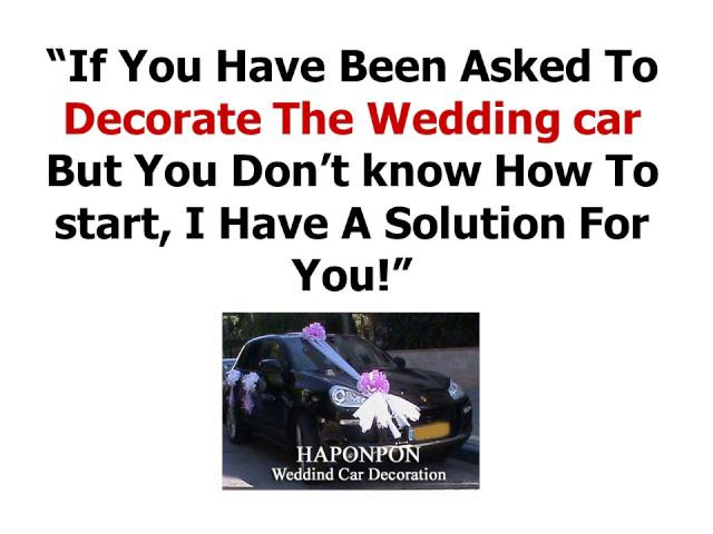 Incredible WEDDING CAR DECORATION - HOMEPAGE 640 x 480 · 36 kB · jpeg
