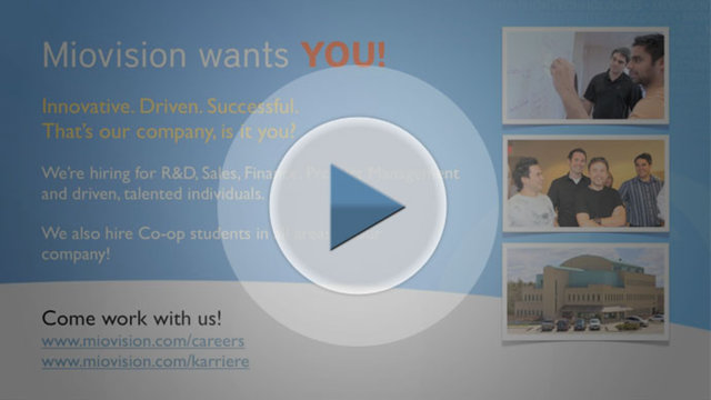 Miovision Recruitment Promo