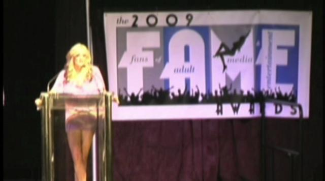 Opening and introduction of 2009 TheFAMEAwards.com brought to you by Freeones.com