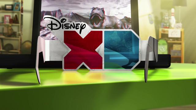 Disney XD 3d Glasses