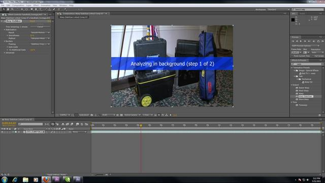 Steady Your Clips with After Effects CS5.5's Warp Stabilizer
