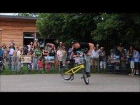 BMX Show Ditzingen | FAC -It's BMX | Ditzingen Stadtfest 2011