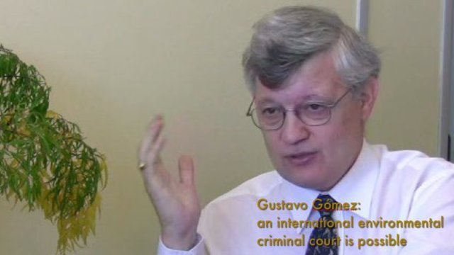 Fiscal Gómez: Need for an international environmental crimes court