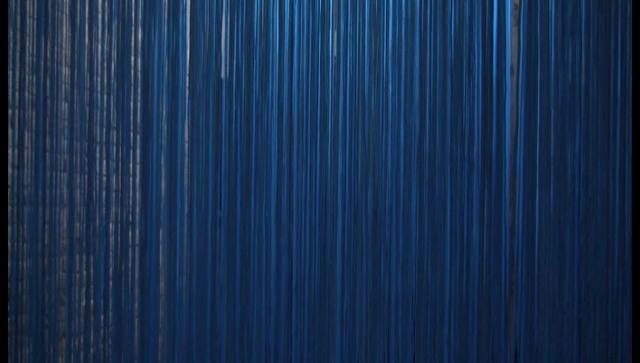 Blue on
