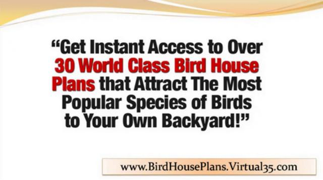 House Plans - Bird House Plans Exclusive Designs - blue bird house ...