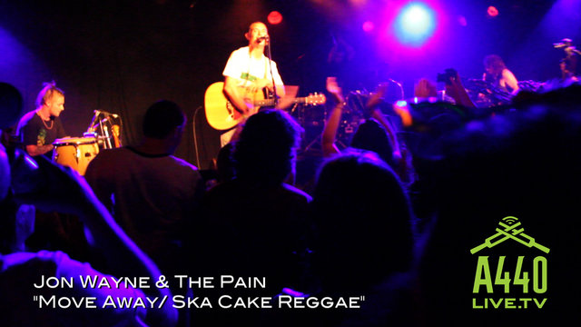 "Jon Wayne & The Pain ""Move Away / Ska Cake Reggae"""