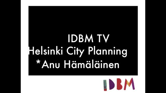 IDBM TV - Helsinki City Planning Department on Vimeo