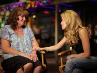 Sally Pressman from Army Wives interviews Paulette Nelson, USO Volunteer - Part 3