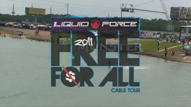 Liquid Force Free For All - Stop # 3 Wake Nation Houston