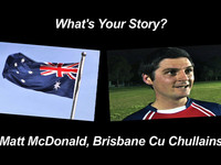 Matt McDonald - Homegrown Hurler in Brisbane, Australia!