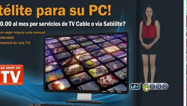 Television en PC | Tv via satelite para su pc | canales en HD, mas de