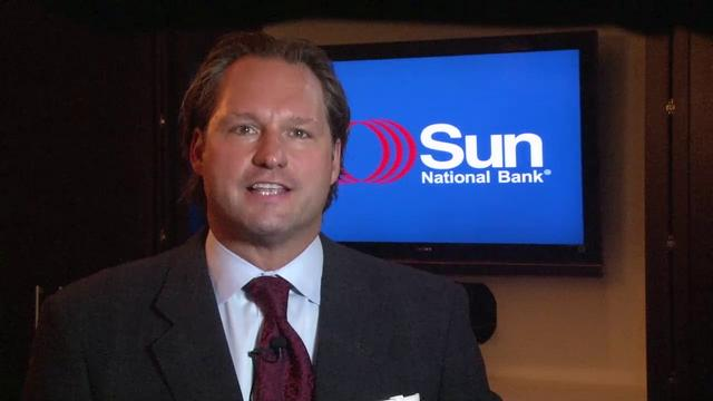 Sun National Bank President and CEO Thomas X. Geisel