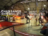Rampworx Skatepark once again played host to the Chaz Sands Invitational.  Check the video:  Ams 1st Edwin Wieringh 2nd Joey Egan 3rd Maxim Genoud  Girls 1st Fallon Heffernan 2nd Rosie O'Donoghue 3rd Mery Munoz  Pro 1st Julien Cudot 2nd Steve Swain 3rd Brian Aragon  Best trick Julien Cudot – Flatspin 540 down the wave ramp.  http://rampworx.com http://rampworxshop.com
