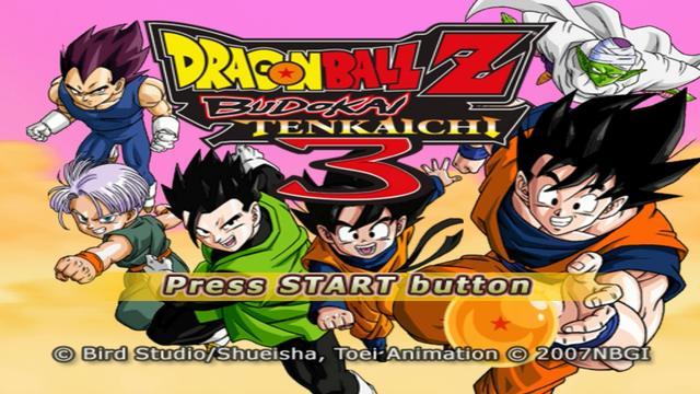 Dragon Ball Z Budokai Tenkaichi 3 Pcsx2