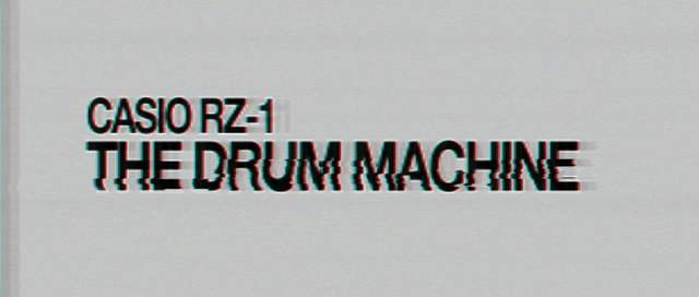 THE DRUM MACHINE