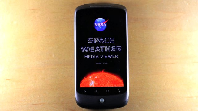 NASA Space Weather Viewer for Android