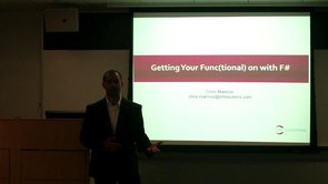 Getting your Functional on with F# and Chris Marinos