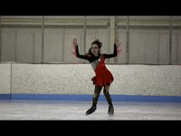 "Anna Skates to ""Thriller"" at Hagerstown"