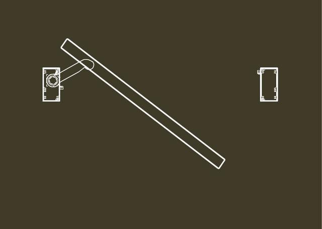 Animated Swinging Door : Balanced door swing animation on vimeo