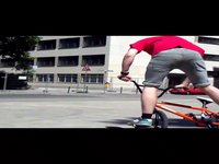 BMX Flatland with some slow motion Tricks