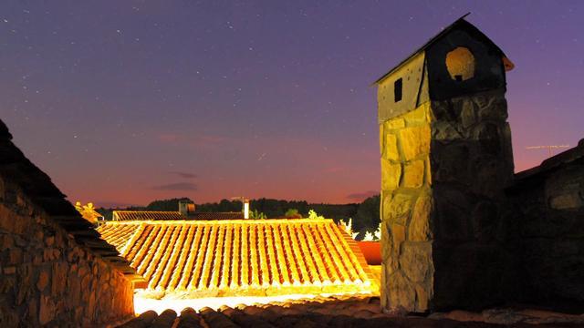 Noche en San Pedro de las Herrerías, Zamora (Spain)