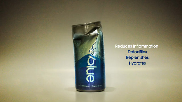 """Energy drink """"CodeBlue"""""""