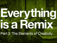 Everything is a Remix 3 : The elements of Creativity