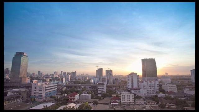 Timelapse in Bangkok