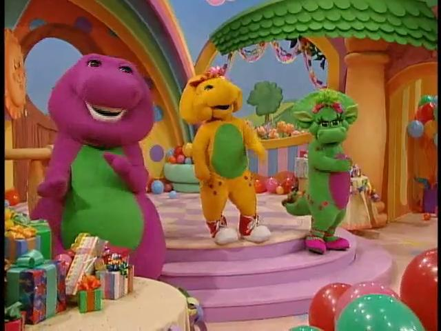 My Party With Barney Vhs Ebay