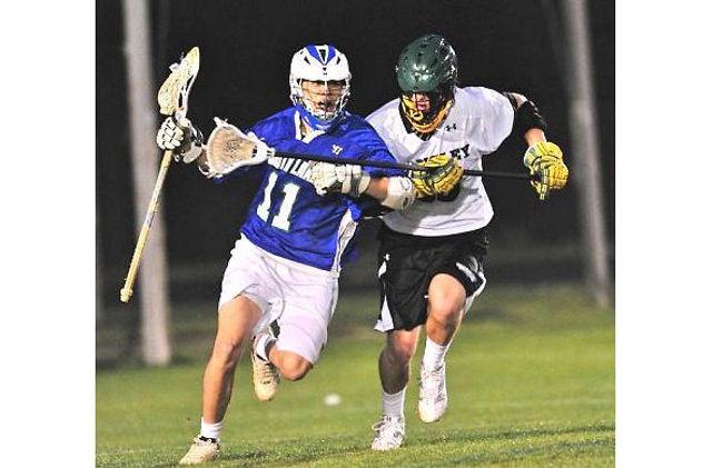 Lacrosse close defense chandler suk langley high school lacrosse