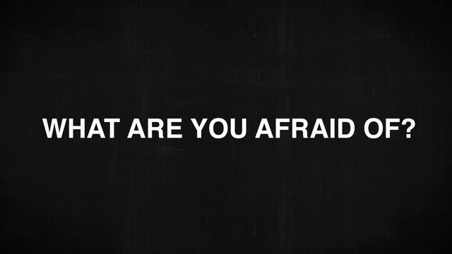 what are you afraid of essay Fear is a powerful force in american culture roundtable excerpts from various  authors on what they are affraid of.