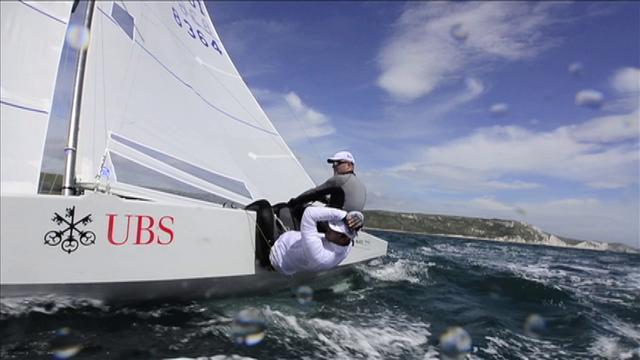 Swiss Star Team Marazzi Sailing Training in Weymouth