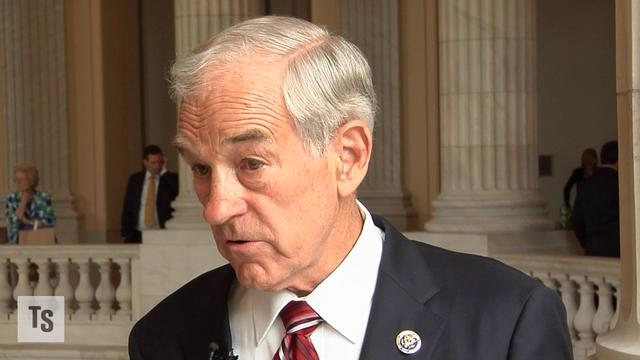 The Fed is Drug Addict: Ron Paul