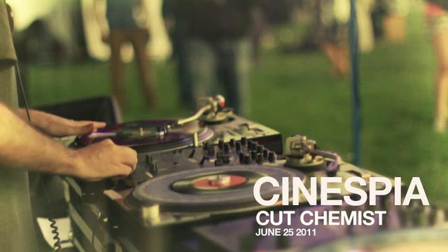 CUT CHEMIST & Z TRIP at Cinespia