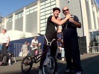 Azad Rapstar & BMX Pro Chris Boehm @Köln Shooting