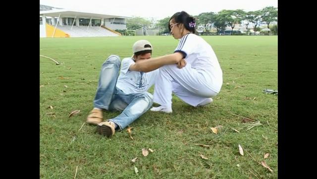 Vovinam Boy & Judo Girl