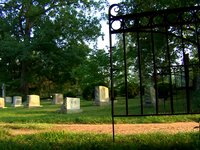 The University of Virginia Cemetery