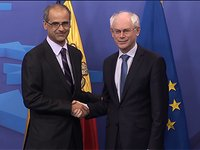 Meeting with Antoni MARTÍ, Prime Minister of Andorra